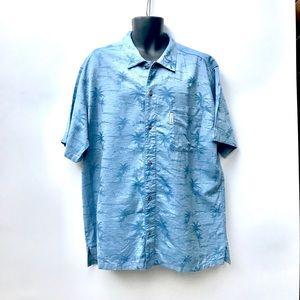 Columbia Sportswear Company Mens Blue Shirt XL
